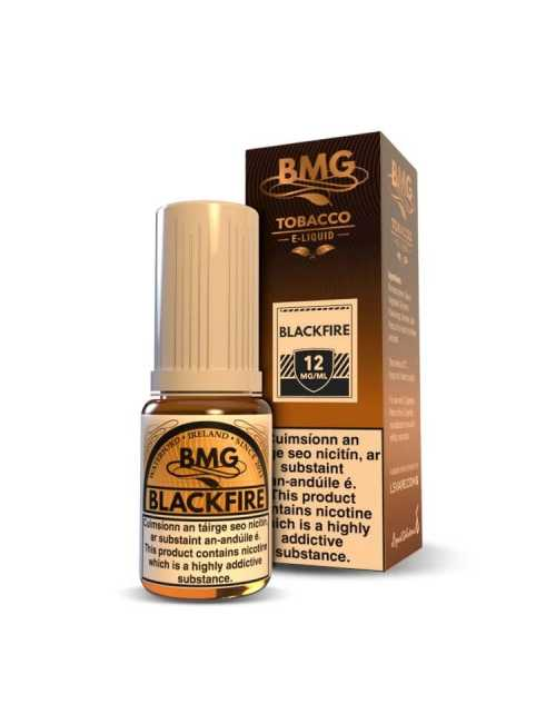 BMG Black Fire E Liquid - Nicotine Strength: 0 - 20mg (10ml)