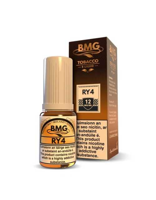 BMG RY4 E Liquid - Nicotine Strength: 0 - 20mg (10ml)