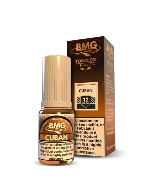 Cuban E Liquid - Tobbaco vape juice - Nicotine Strength: 0-20mg (10ml)
