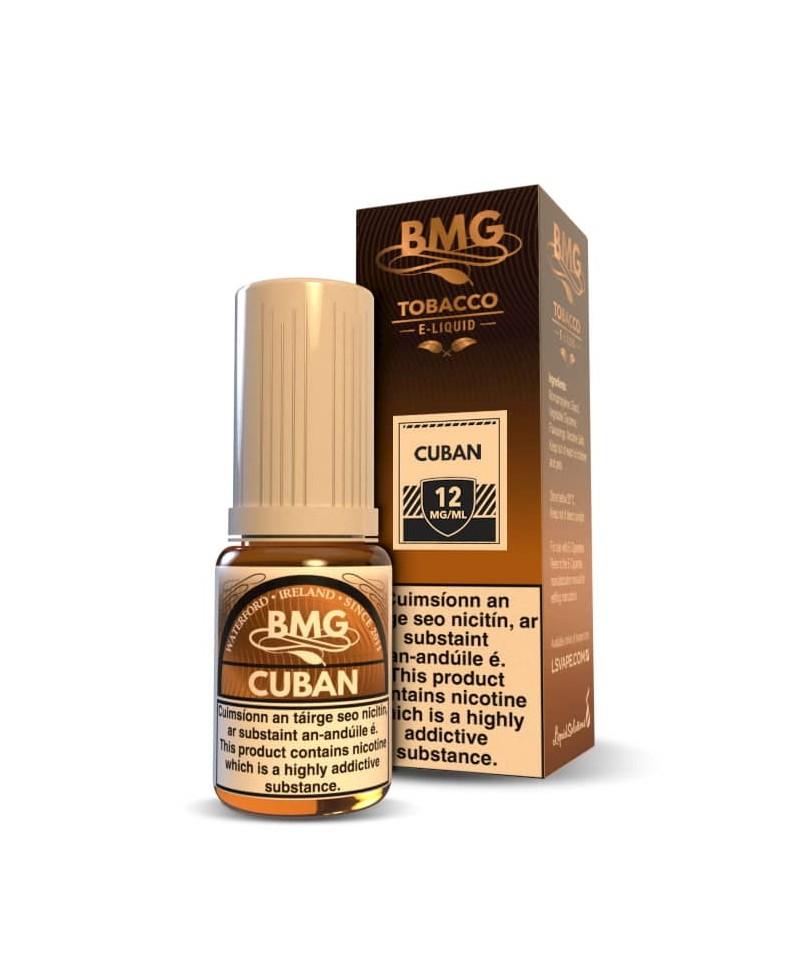 Cuban E Liquid - Tobbaco vape juice - Nicotine Strength: 0-20mg (10ml)