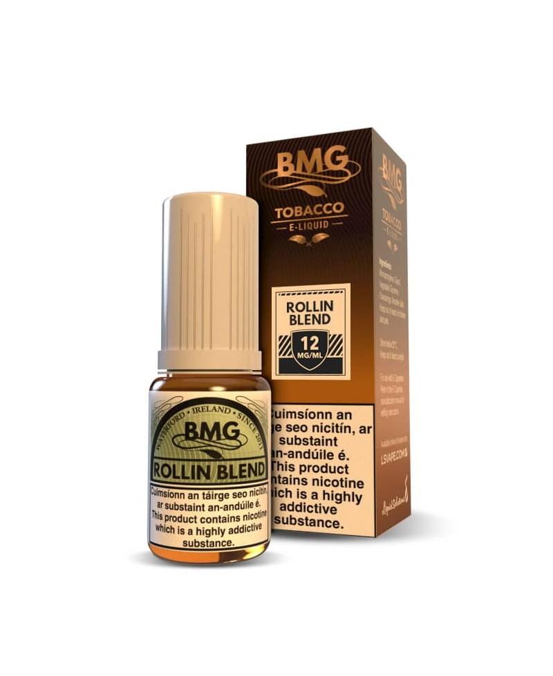 BMG Rolling Blend Tobacco E Liquid - Nicotine Strength: 0 - 20mg (10ml)