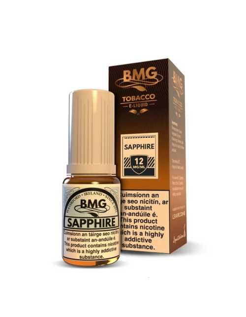 BMG Saphire E Liquid - Nicotine Strength: 0-20mg (10ml)