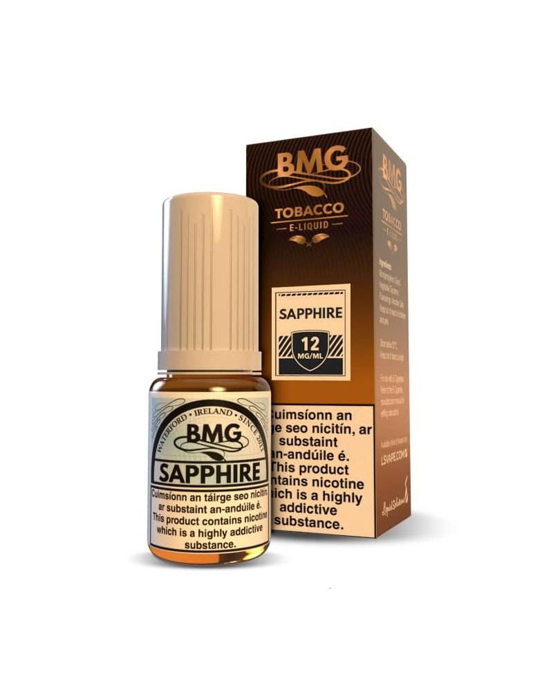BMG Saphire E Liquid - Nicotine Strength: 0-20mg (10ml)