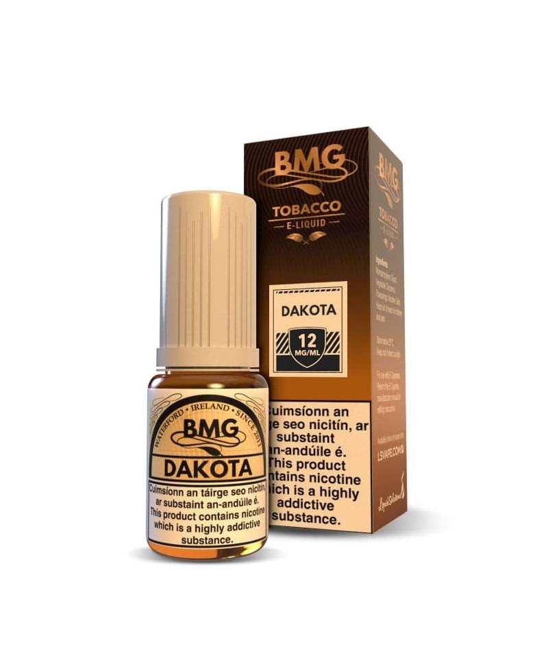 BMG Dakota E Liquid - Tobacco Vape juice - Nicotine Strength: 0 - 20mg (10ml)