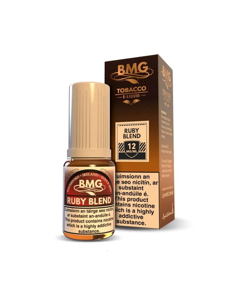 BMG Ruby Blend E Liquid - Nicotine Strength: 0 - 20mg (10ml)