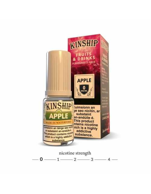 Kinship Apple E Liquid - 0mg