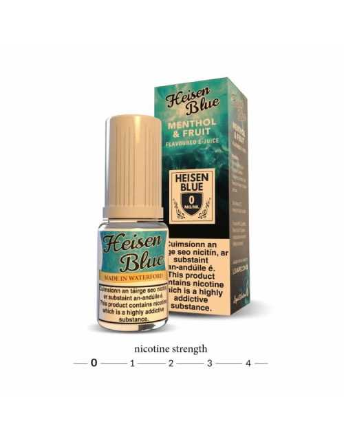 Heisen Blue E Liquid - 0mg
