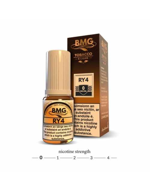 BMG RY4 E Liquid - 0 mg