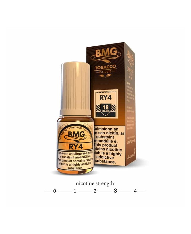 BMG RY4 E Liquid - 18 mg