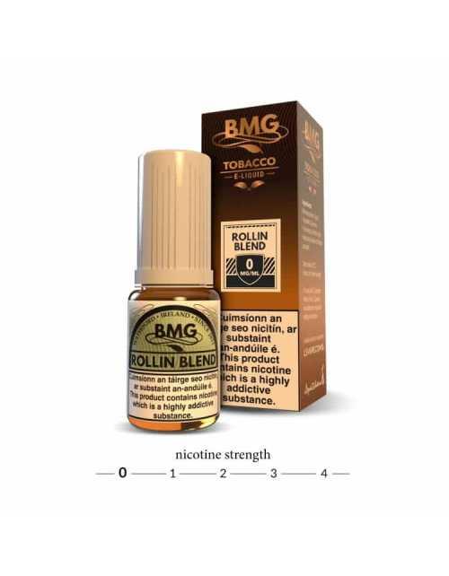 BMG Rollin Blend E Liquid - 0mg