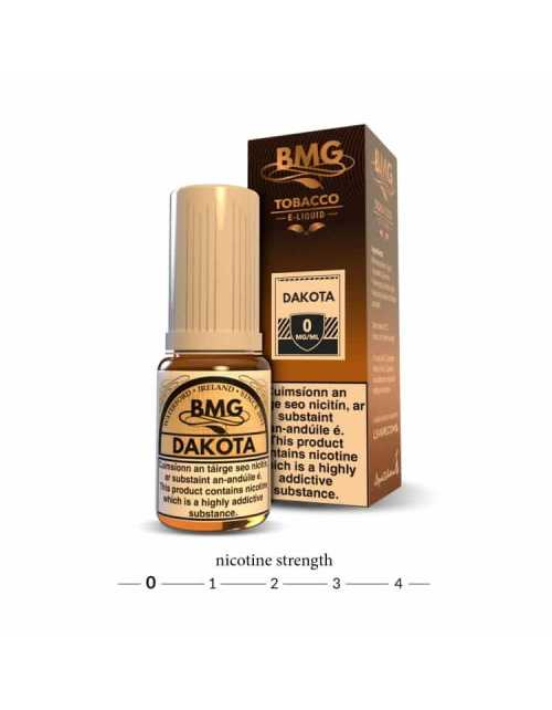 BMG Dakota E Liquid - Tobacco Vape juice - 0mg