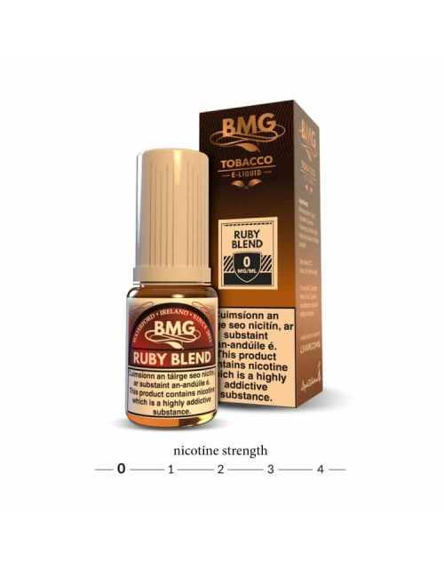 BMG Ruby Blend E Liquid - 0mg