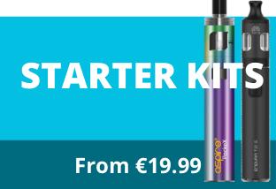 ECig starter kits from €19.99